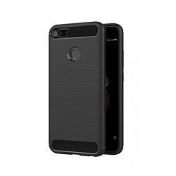 POWERTECH Θήκη Carbon Flex για Xiaomi Mi A1/5X, μαύρη