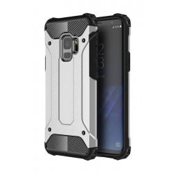 POWERTECH θήκη Hybrid Protect για Samsung Galaxy S9, ασημί