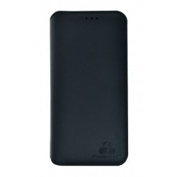 POWERTECH Θήκη Slim Leather για iPhone 7/8, μαύρη