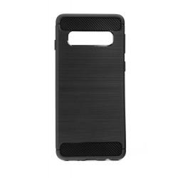 POWERTECH Θήκη Carbon Flex MOB-1229 για Samsung Galaxy S10, μαύρη