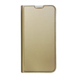 POWERTECH Θήκη Βook Elegant MOB-1471 για Huawei Y6/Y6 Pro 2019, χρυσή