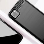 POWERTECH Θήκη Carbon Flex MOB-1523, Huawei Y5p, μαύρη