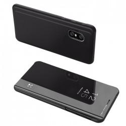 POWERTECH θήκη Clear view MOB-1541 για Xiaomi Redmi 9A, μαύρη