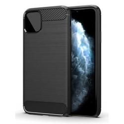 POWERTECH Θήκη Carbon Flex MOB-1549 για iPhone 12 Pro Max, μαύρη