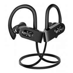 MPOW bluetooth earphones Flame2 313AB, IPX7, μικρόφωνο, μαύρο
