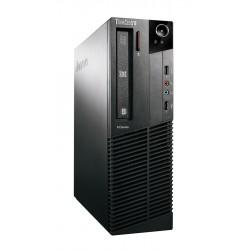 LENOVO PC M81 SFF, i3-2100, 4GB, 500GB HDD, DVD-RW, REF SQR