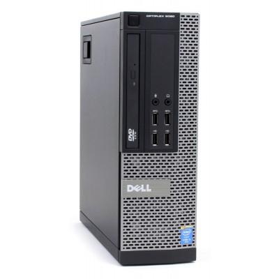 DELL PC 9020 SFF, i5-4590, 4GB, 250GB HDD, DVD, REF SQR