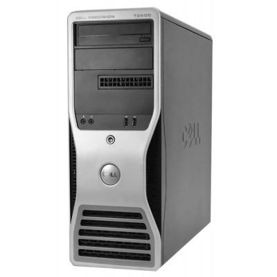 DELL PC T3500 Workstation, W3503, 6GB, 500GB HDD, DVD, REF SQR