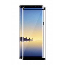 POWERTECH Tempered Glass 3D Full glue για Samsung Note 8, mini, Black