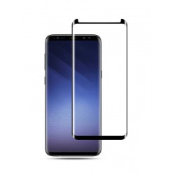 POWERTECH Tempered Glass 3D για Samsung S8, mini, μαύρο