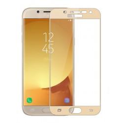 POWERTECH Tempered Glass 3D Full Face για Samsung J3 2017, Gold