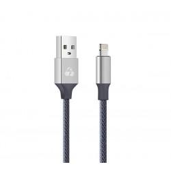 POWERTECH Καλώδιο USB σε Lightning eco small PTR-0049 copper, 1m, ασημί