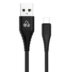 POWERTECH Καλώδιο USB σε Micro USB eco PTR-0056 copper, 1m , μαύρο