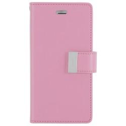 MERCURY Θήκη Rich Diary για Samsung Galaxy S6 edge plus, Pink