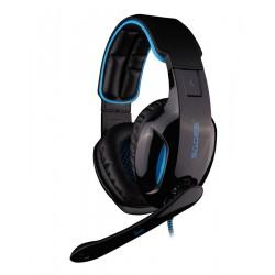 SADES Gaming Headset Snuk, USB, 7.1CH με 40mm πανίσχυρα ακουστικά