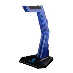SADES Stand Wolfbone D1 για headset, μπλε