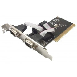 POWERTECH Κάρτα Επέκτασης PCI to 2x Serial (RS232), Chipset WHC351