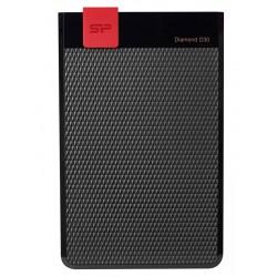 SILICON POWER Εξωτερικός HDD 4TB Diamond D30 D3L, USB 3.1, Black