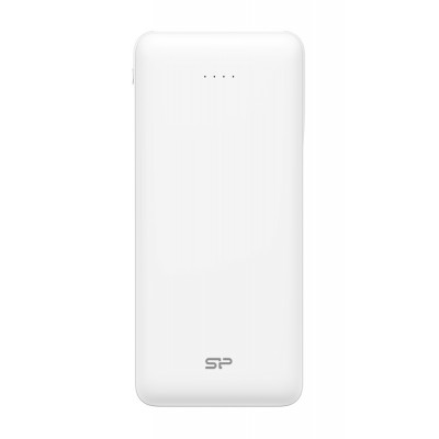 SILICON POWER Power Bank C200 20000mAh, 2x USB Output, White