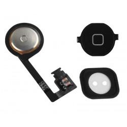 Πλήκτρο Home button με Flex για iPhone 4s, Black
