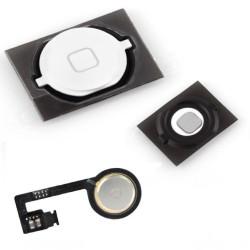 Πλήκτρο Home button με Flex για iPhone 4s, White