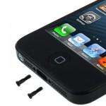 Κάτω βίδα επένδυσης για iPhone 5, μαύρο, τεμάχιο