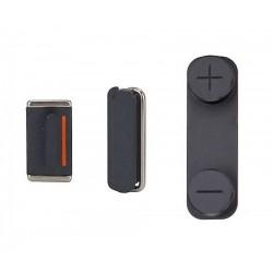 Πλαϊνά πλήκτρα για iPhone 5s, Black