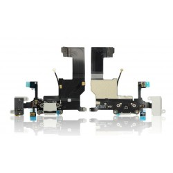 Dock connector flex cable για iPhone 5G, White