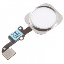 Καλώδιο Flex Home button και fingerprint για iPhone 6 plus, Silver
