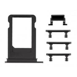 Πλαϊνά πλήκτρα για iPhone 7 Plus, Black