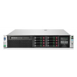"HP Server DL380P G8, 2x E5-2620, 16GB, 8x 2.5"", 2x 750W, REF SQ"