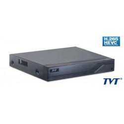 TVT Υβριδικό καταγραφικό TD-2116TS-HC, H265+ Full HD, 8x IP, 16 Κανάλια
