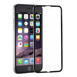 POWERTECH Tempered Glass 3D Full Face για iPhone 6, titanium, Black