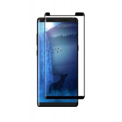 POWERTECH Tempered Glass 3D για Samsung Note 9, mini, full glue, μαύρο