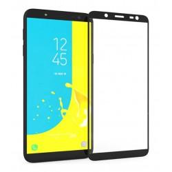 POWERTECH Tempered Glass 3D, Samsung J6 2018 (J600F), full glue, μαύρο