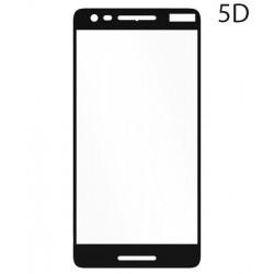 POWERTECH Tempered Glass 5D Full Glue για Nokia 2,1, Black