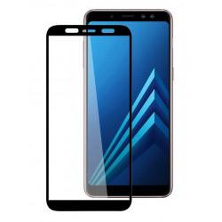 POWERTECH Tempered Glass 5D Full Glue για Samsung A6 Plus 2018, Black