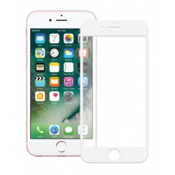 POWERTECH Tempered Glass 5D Full Glue για iPhone 7, White