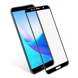 POWERTECH Tempered Glass 5D Full Glue για Huawei Y6/Y6 Prime 2018, μαύρο