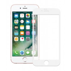 POWERTECH Tempered Glass 5D Full Glue για iPhone 6, White
