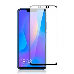 POWERTECH Tempered Glass 5D, Full Glue, για Huawei Mate 20 Lite, μαύρο