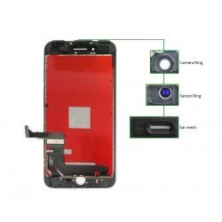 TIANMA High Copy LCD για iPhone 7G, Camera-Sensor ring, ear mesh, Black