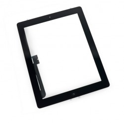 Touch Panel - Digitizer High Copy for iPad 3, with tape, Black