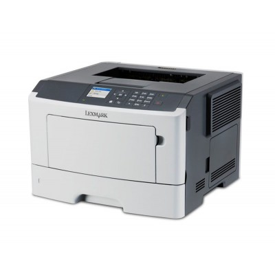 LEXMARK used Printer MS415dn, Laser, Monochrome, no toner & drum