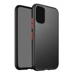 VENNUS Θήκη Color Button VNS-0019 για Huawei P40 Pro, μαύρη