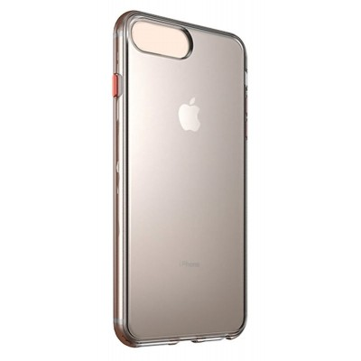 VENNUS Θήκη Color Button VNS-0022 για iPhone SE 2020, διάφανη
