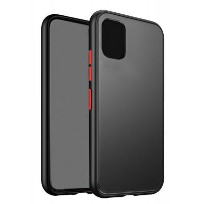 VENNUS Θήκη Color Button VNS-0023 για Samsung A51, μαύρη