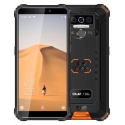 "OUKITEL Smartphone WP5, 5.5"", 4/32GB, Quadcore, IP68, 8000mAh, πορτοκαλί"