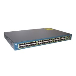 Cisco used Catalyst 3560-48 PS, Switch, 48 ports, PoE managed