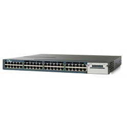 CISCO used Catalyst WS-C3560X-48P-S Switch, 48 ports PoE, Managed